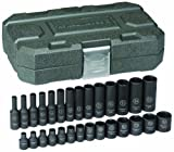 Best Cooper Tools Supply Drive Socket Sets - GearWrench 84901 1/4-Inch Drive Impact Socket Set Metric Review