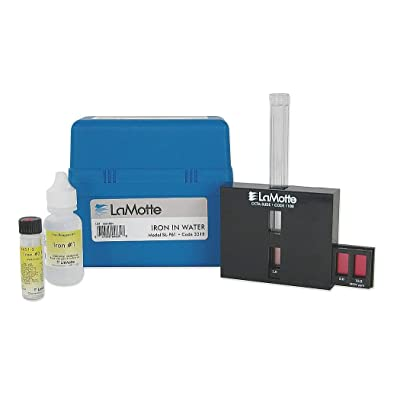 Lamotte Water Testing Kit, Iron, 05 to 100 PPM - 4447-01: Home Improvement