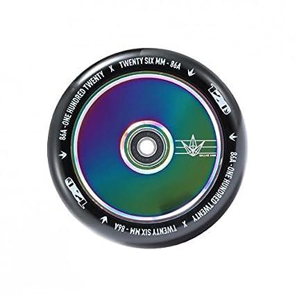 Rueda Blunt para patinete de 120 mm, Oil Slick: Amazon.es ...