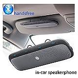 Sunvisor Bluetooth Speaker for Car TZ900 Vehicle Speaker Mic Wireless Handsfree In-car Speakerphone