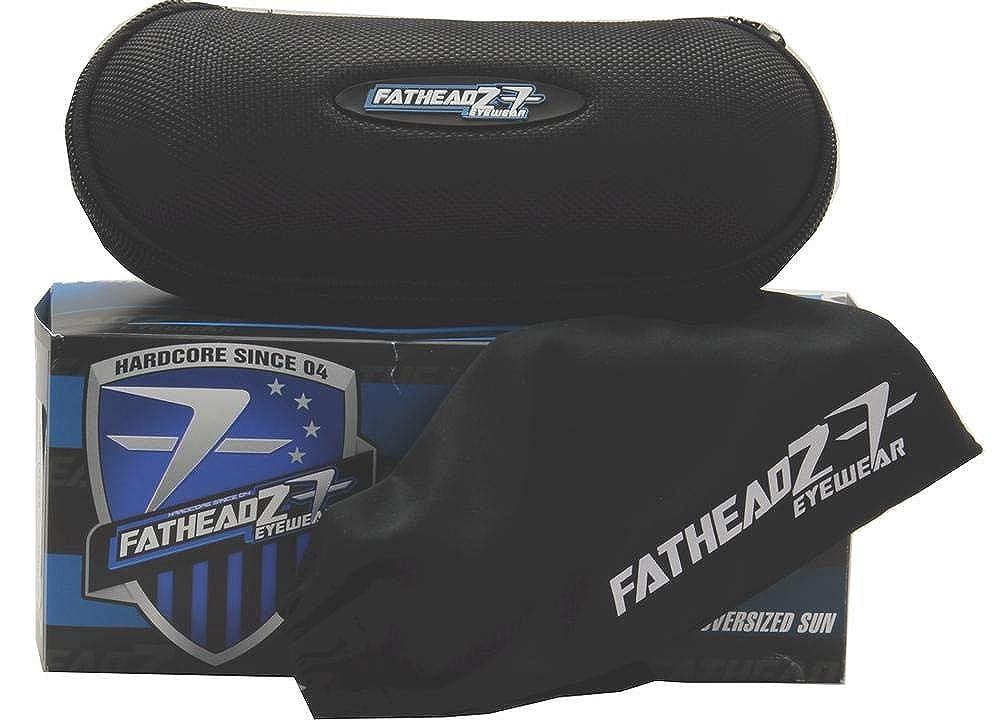 Fatheadz Zound FH00171 FH//00171 Black Fashion Pilot Polarized Sunglasses 60mm