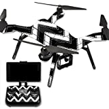 MightySkins Protective Vinyl Skin Decal for 3DR Solo Drone Quadcopter wrap cover sticker skins Chevron Style