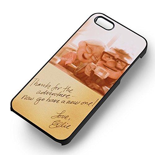 Carl et Ellie Love Up Disney pour Coque Iphone 6 et Coque Iphone 6s Case (Noir Boîtier en plastique dur) V5Z0OC