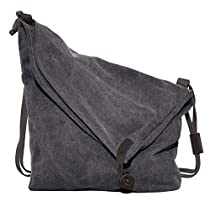Messenger Bag,Coofit Canvas Crossbody Messenger Bag Hobo ...