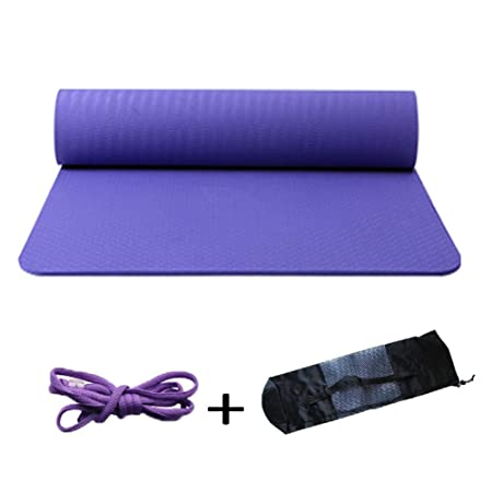 TPE Yoga Mat Antideslizante Fitness Esterillas Hombres Y ...