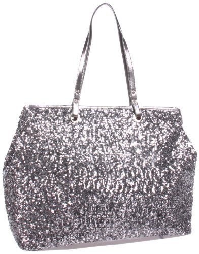 Nine West Cant Stop Shopper Editor Tote,Gunmetal/Pewter,One Size, Bags Central