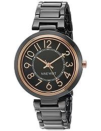Nine West NW1893GNRT Reloj de Diseñador para Mujer