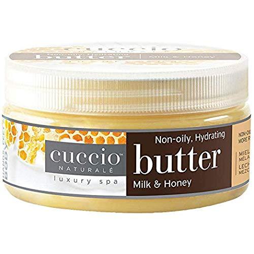 Cuccio Body Butter Milk and Honey 8 Oz (1 jar)