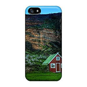 High Quality Shock Absorbing Cases For Iphone 5/5s-old Houses In Icel