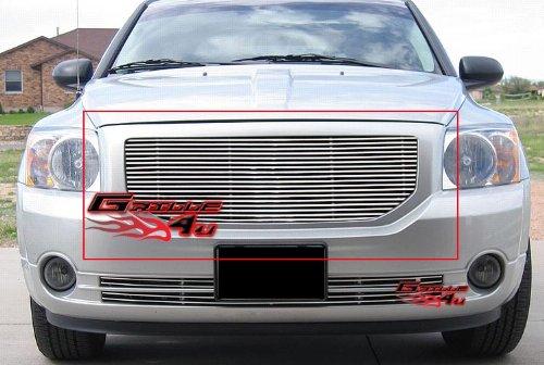 - APS D85346A Polished Aluminum Billet Grille Replacement for select Dodge Caliber Models