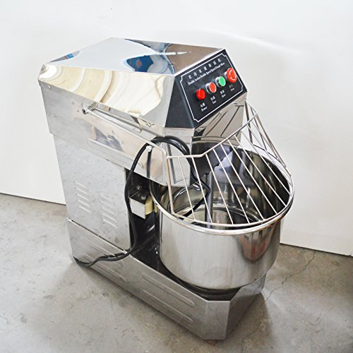 - Electric Commercial Double Action Double Speed Spiral Dough Mixer Mixing Machine Bakery Food 170637