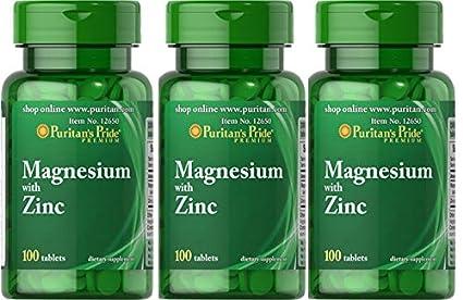 Magnesio con Zinc 100 Tabletas.