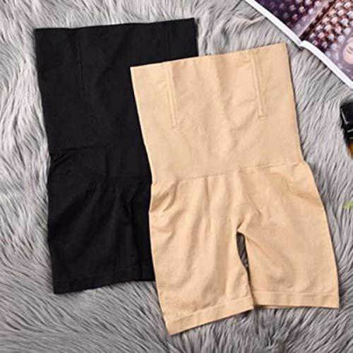 Carremark Womens High Waist Shapermint Shapewear Shaper Shorts Slim Elastic Body Shaper XL//2XL Black/&khaki