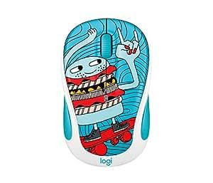 Logitech M325c Wireless Mouse Skate Burger