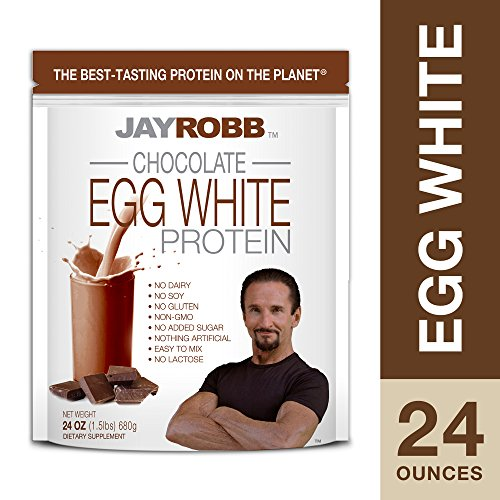 Jay Robb – Egg White Protein Powder, Outrageously Delicious, Chocolate, 21 Servings (24 oz) Review