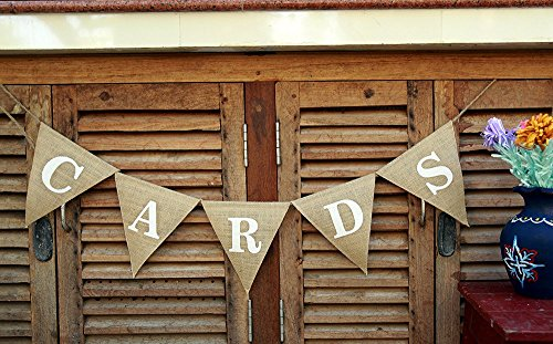 Wedding CARD Banner-Wedding Reception Burlap-Mini Card Sign-Party Event Wedding Banner-Card Burlap-Reception Card Banner-Card Box- Card Wedding Banner - Edge Reception Card