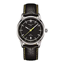 Certina DS-2 Precidrive Quartz Black Dial Black Leather Mens Watch C024.410.16.051.01
