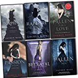 lauren kate fallen collection 6 books set pack set passion fallen torment the betrayal of natalie hargrove rapture fallen in love