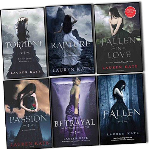 Lauren Kate Fallen Collection 6 Books Set Pack Set (Passion, Fallen, Torment, The Betrayal of Natalie Hargrove, Rapture, Fallen in Love) (Lauren Kate Fallen In Love)