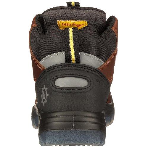 Safety Jogger - Calzado de protección de cuero unisex Marrón