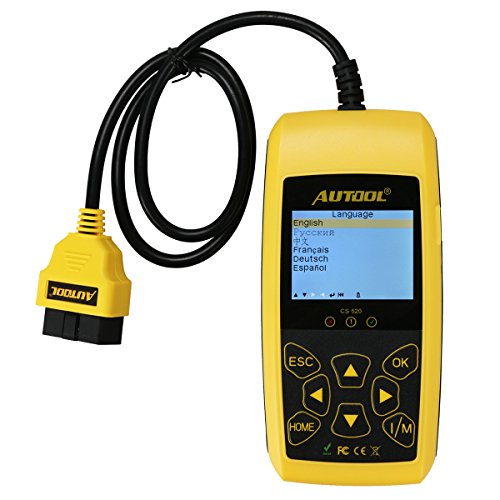 Car Engine Fault Code Reader Autool CS520 Auto Code Scanner,Turns off Engine Light (MIL) and DTC/TIPS Warning Lights Diagnostic Scan Tool