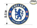 Chelsea-new United Kingdom Soccer Football Club FC 2 Stickers Car Bumper Window Sticker Decal Huge 9.5 inches