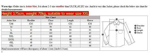 Amazon.com: Fashion Slim Mens Jackets Coats Chaquetas Hombres Jaquetas Bomber: Clothing