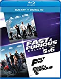 DVD : Fast & Furious Collection: 5 & 6 [Blu-ray]