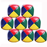 Juggling Balls, 9 Pack Classic Juggling Balls Set for Beginners Kids Durable Soft Easy Juggle Balls for Kids and Adults