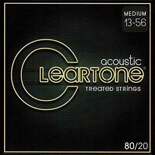(Cleartone 7613 80/20 Bronze Acoustic String Set,)