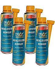 INOX® Diesel Systeemreiniger additief, 4 x 250 ml - Diesel additief voor alle dieselmotoren lost vervuiling en hars in het dieselsysteem op.