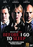 Before I Go To Sleep (SE) (DVD Region 3)