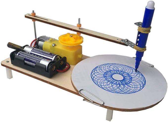 juler Stem Toys Trazador de Dos velocidades Tecnología para Estudiantes de Bricolaje Pequeña producción Pequeño invento Equipo de Laboratorio científico,Trazador,Un tamaño: Amazon.es: Deportes y aire libre
