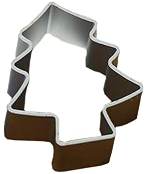 Galletas de aluminio para hornear de dibujos animados Moldes Mousse / Verduras / Frutas corte moldes fijados de 5,Árbol de Navidad: Amazon.es: Hogar