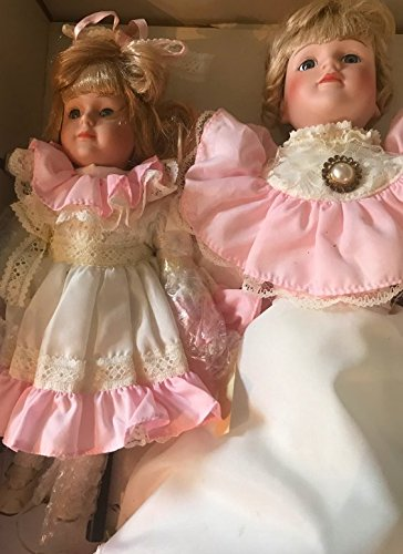 Dynasty Dolls Vintage Collectable Porcelain Dolls Tammy & Mom Collection