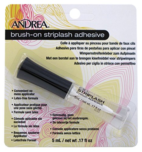 Andrea Brush-On Striplash Adhesive 0.17 Ounce (5ml) (2 -