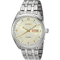 Seiko Men's Japanese Automatic Stainless Steel Casual Watch