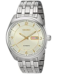 Seiko Men's SNKN99 Analog Display Japanese Automatic Silver Watch