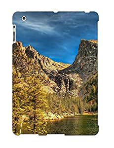 Design High Impact Dirt/shock Proof Case Cover For Ipad 2/3/4 (rocky Mountains)
