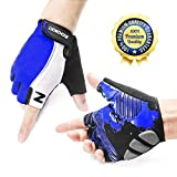 ZOOKKI Cycling Gloves Mountain Bike Gloves Road Racing Bicycle Gloves Light...