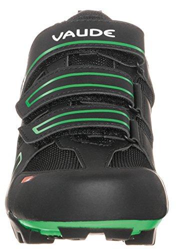VAUDE Exire Active RC, Scarpe da Ciclismo da Unisex Adulto Nero (Black/Green)