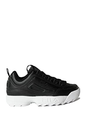 57ce0094ec5b Amazon.com  FILA Women s Disruptor II Premium Leather Chunky Sneaker ...
