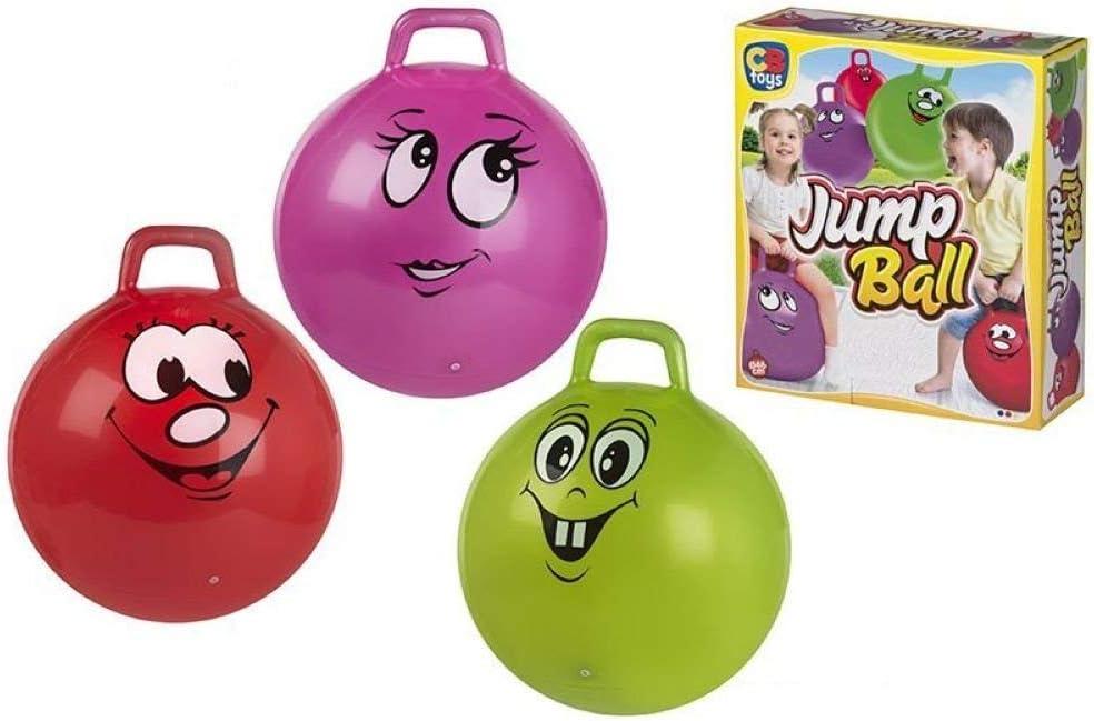 Color Baby, 53713, Balón Saltador Canguro, 46 cm, Colores Surtidos ...