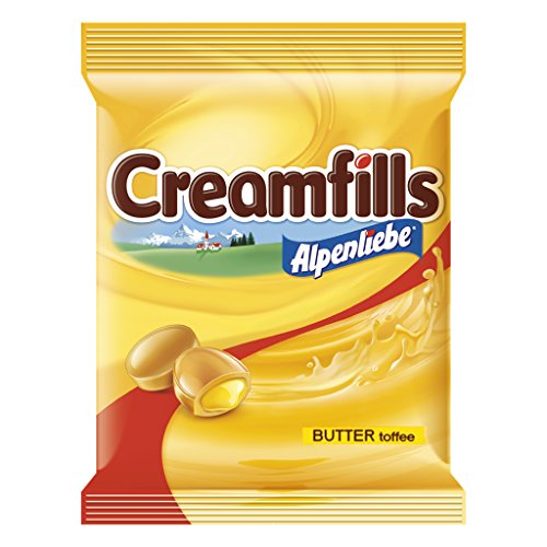 Alpenliebe Cream Fills Butter Toffee, 174.8g (46 units)