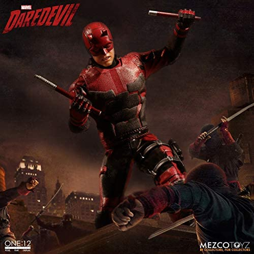 Mezco One:12 DAREDEVIL NETFLIX SIX INTERCHANGEABLE HANDS Parts Only