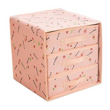 ... Armario Tocador Caja De Almacenaje Divisor Del Cajón Bolsa De Ropa Interior Caja De Almacenamiento Del Sujetador Caja Para Sujetadores: Amazon.es: Hogar
