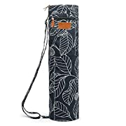 With full zip feature, it's easy to put your mat in the bag and keep it clean and organized. Adjustable shoulder strap is designed for customized length and easy carrying. A large and expandable front pocket is ideal for your personal belongings such...