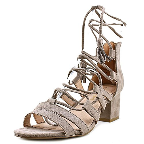 Madden Girl Womens Loverrr Open Toe Casual Strappy Sandals Dark Taupe BS9oZw3zp