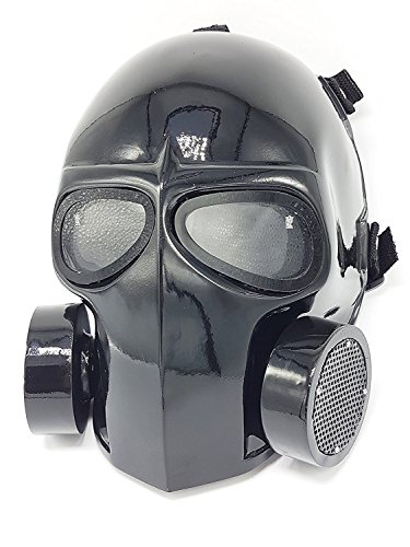 Gas Mask Costume Ideas (Army of Two Airsoft Mask Protective Gear Outdoor Sport Fancy Party Ghost Masks Bb Gun Gas Mask with Lens)