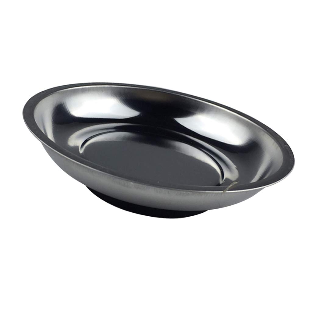 MagiDeal 3/4/6'' Magnetic Parts Bowl Tray Dish Machine Repair Storage Container Tool - 6 inch